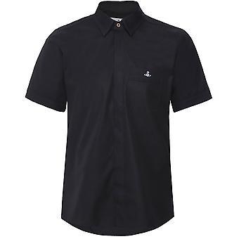 Vivienne Westwood Man Slim Fit Classic Short Sleeve Shirt