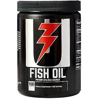 Universal Nutrition Fish Oil Suplement diety - 100 Softgels