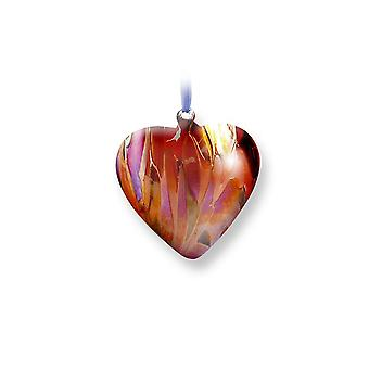 Nobile Glassware July Birth Gem Heart