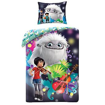 Abominable Single Cotton Duvet Cover and Pillowcase Set - European