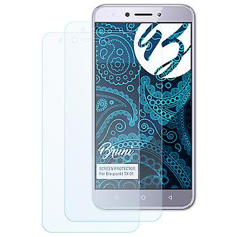 Bruni 2x Screen Protector compatible with Blaupunkt TX 01 Protective Film