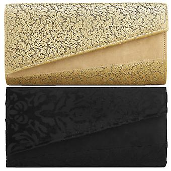 Ruby shoo kvinnor ' s Devore sammet Darwin Clutch Bag