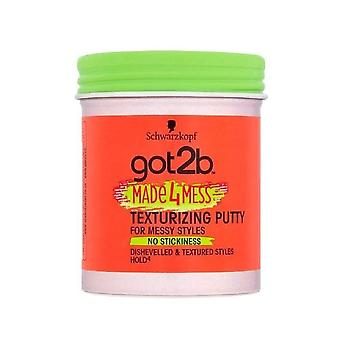 Schwarzkopf 6 X Schwarzkopf Got2b Made4Mess Texturizing Putty