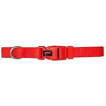 כלבי צווארון בסיסי הכלב האדום גודל S (כלבים, קולרים, הפניות ורתמות, קולרים)