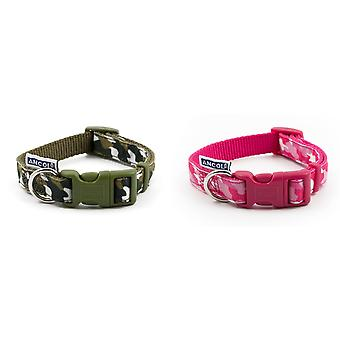 Ancol Nylon Camouflage Dog Collar