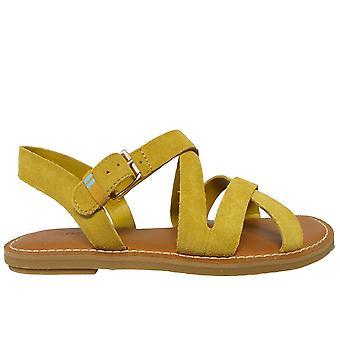 Toms Ladies Chaussures Sicile Sandal en suède