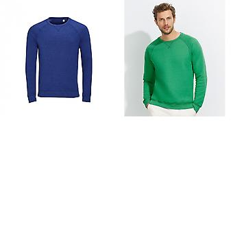 SOLS Mens Studio Franse Terry Raglan sweater