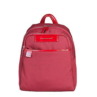 Piquadro Original Men All Year Backpack/Rucksack - Red Color 30597