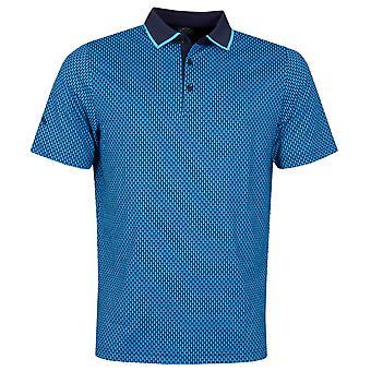 Callaway Golf Mens 2020 Golf Bag Print Vochtafvoerende Stretch Golf Polo Shirt