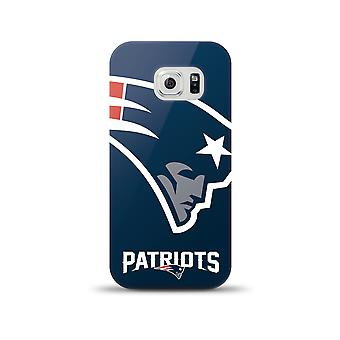Mizco Sports NFL Oversized Snapback TPU Case for Samsung Galaxy S6 (New England Patriots)