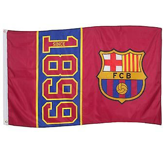FC Barcelona Official Football Gift 5x3ft Crest Body Flag