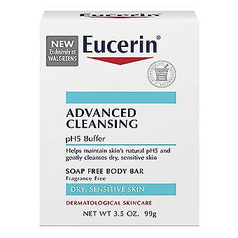 Eucerin advanced cleansing body bar, 3.5 oz