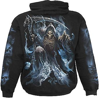Spiral Direct Gothic GHOST REAPER - Hoody Black|Reaper|Souls|Skulls|Death