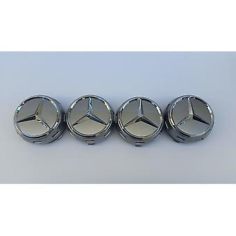 MB33-75MM 4-Pack Center Cowles Mercedes Benz
