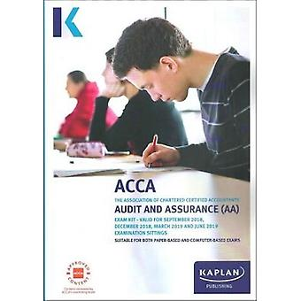 AUDIT AND ASSURANCE (AA) - EXAM KIT by Kaplan Publishing - 9781787401