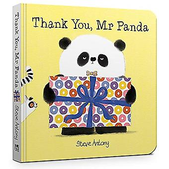 Thank You - Mr Panda Board Book by Steve Antony - 9781444944655 Book
