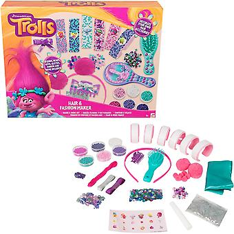 Trolls Craftsset Decorate Hair Accessories Sequins Beads Glitter Band etc.