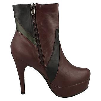 Coco Womens/Ladies High Heel Platform Ankle Boot