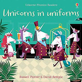 Unicorns in Uniforms by Russell Punter - 9781474959506 Book
