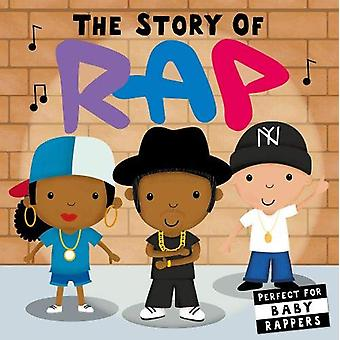 The Story of Rap door Lindsey Sagar - 9781848578302 Boek