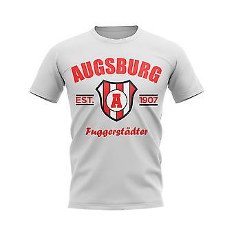 アウクスブルク設立フットボールTシャツ(白)