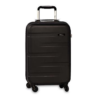 Fabrizio Formation Cabine Chariot à bagages à main S, 4 Roues, 56 cm, 35 L, Noir