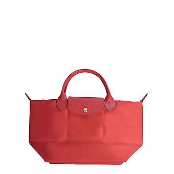Longchamp 1512598545 Women's Red Nylon Shoulder Bag
