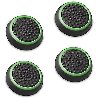 4x Rubber Stick Cover Thumb Grip Caps For PS3 PS4 Xbox One 360 Analog Controller[Green] BUY 2 GET 1 FREE
