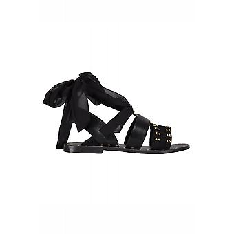 Sofie Schnoor Leather Tie Up Ankle Sandal