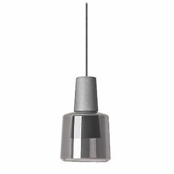 Led 1 Light Ceiling Pendant Cement Grey