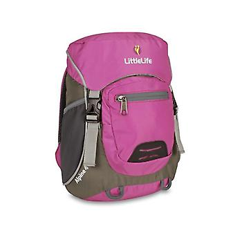 LittleLife Alpine 4 Kids Daysack Purple Backpack Travel Rucksack Bag