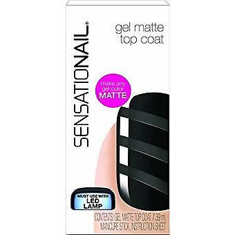 SensatioNail Gel Polish Matte Topcoat 7.39ml (73010)