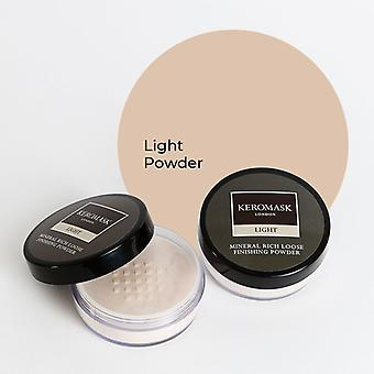 Keromask Light Mineral Rich Finishing Powder | Helps Covers Vitiligo, Rosacea, Scars, Tattoos | 20g