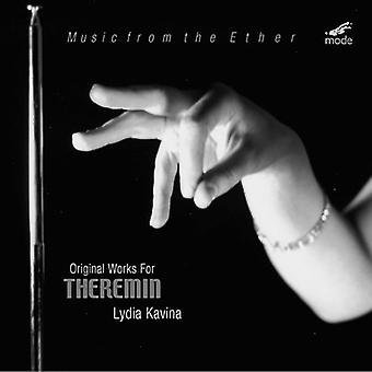 Lydia Kavina - Music From the Ether: Original Works for Theremin [CD] USA import