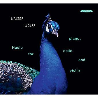 Wolff / Sultana / Junge - Music for Piano & Cello & Violin [CD] USA import
