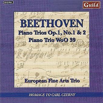 L.V. Beethoven - Beethoven: Piano Trios, Vol. 1 [CD] USA import