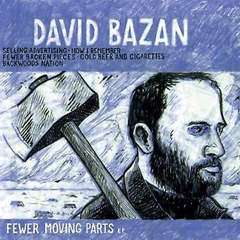 David Bazan - Fewer Moving Parts [Vinyl] USA import