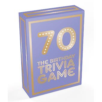 70  The Birthday Trivia Game by Summersdale Publishers