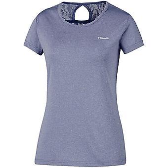 "Columbia Women's Peak To Pointâ""¢ Novelty Short Sleeve T-Shirt Blue"