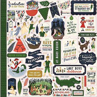 Echo Park Lost in Neverland 12x12 Inch Element Sticker