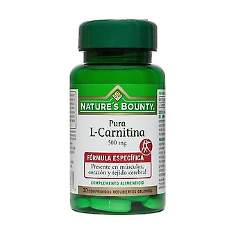 L-Carnitine 30 tablets of 500mg