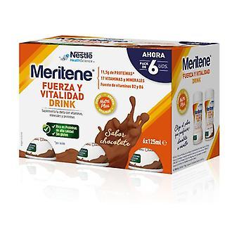 Meritene Chocolate Drink 6 units of 125ml