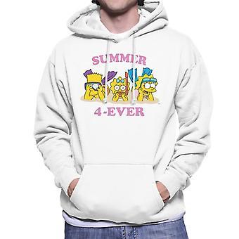 Camisola com capuz para os Simpsons verão 4 ever Men ' s