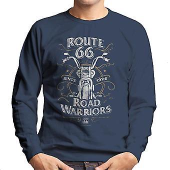 Route 66 Road Warriors Men's Sweatshirt