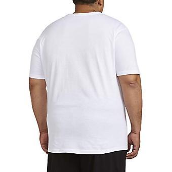 Essentials Men's big & Tall 5-Pack Crewneck Unterhemden Shirt, -weiß,...