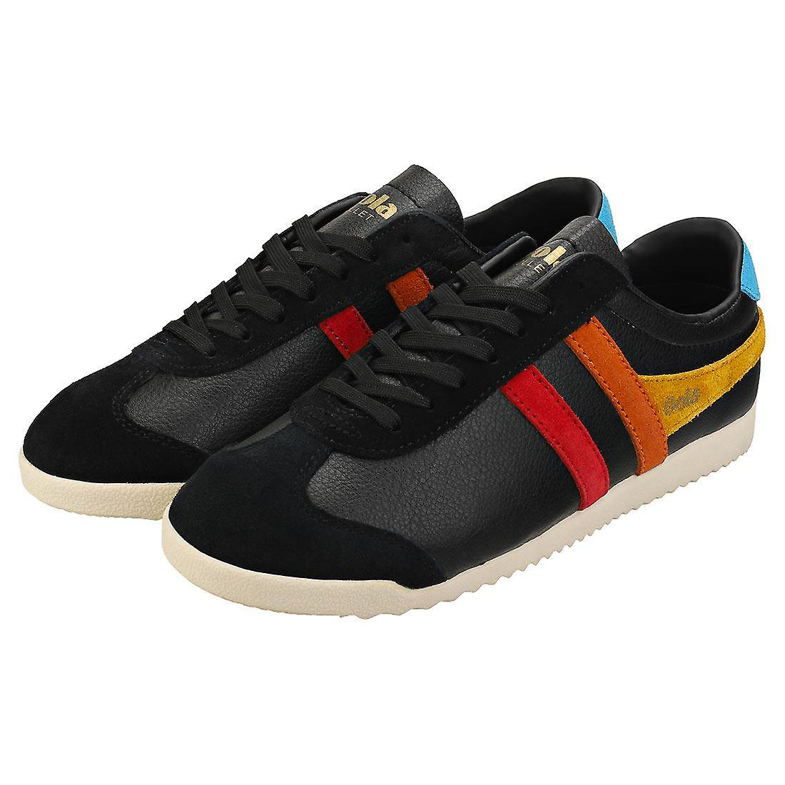 Gola Bullet Trident Womens Casual Trainers in Black Multicolour
