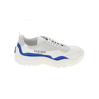 Valentino Garavani Uy2s0b17vrn52q Heren's Witte Leren Sneakers