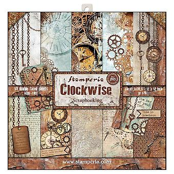 Clockwise 12x12 Inch Paper Pack (SBBL39)
