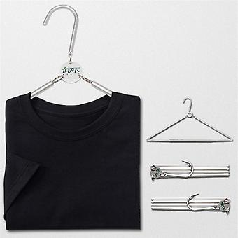 Portable Hanger For Clothes - Portable And Easy Storage Rack For Travel And Household