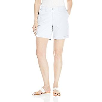 Caribbean Joe Women's Plus-Size Inseam Short with Slant Front and Back Pockets, Bright White, 14